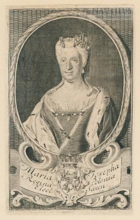 Maria Józefa Habsburżanka, 1737