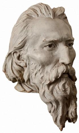 Głowa Jana Matejki, ok. 1900