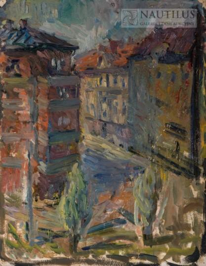 Artysta nierozpoznany, Pejzaż miejski