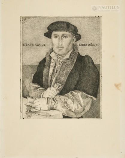 Aleksander Winnicki-Radziewicz, Autoportret według obrazu Hansa Holbeina