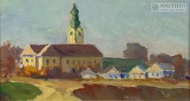 Chyrów. Klasztor Jezuitów, lata 20/30 XX w.