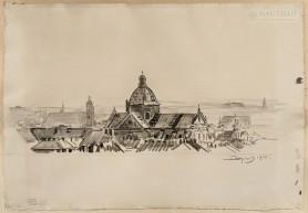 Kraków. Kościół świętych Piotra i Pawła, 1914