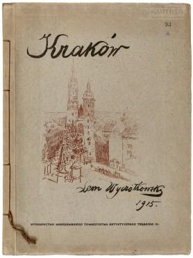 Kraków. 12 autolitografii kredą i piórem…, , 1915