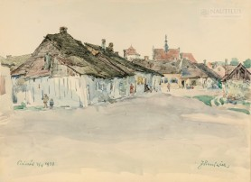 Widok Pińczowa II, 1938