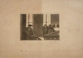Wieczór w Ballancourt, 1901