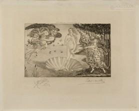 Narodziny Wenus wg Sandro Boticellego, 1893