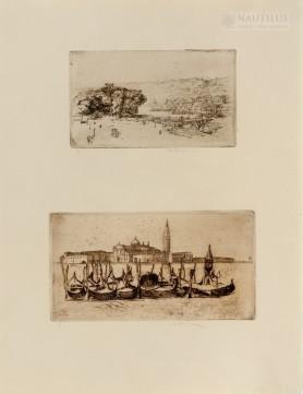 1. Rouen - Le Cours la Reine 2. Venice - Les Gondoles