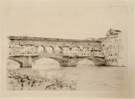Ponte Vecchio we Florencji, 1900