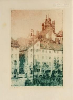Plac Zamkowy w Warszawie, 1913