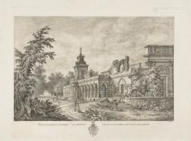 [Wilanów] Widok Galleryi Gotyckiej w Willanowie, 1806