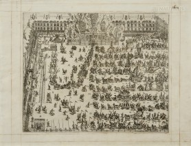 Karuzel w Paryżu na Placu Royale w 1612 (mniejszy), 1612