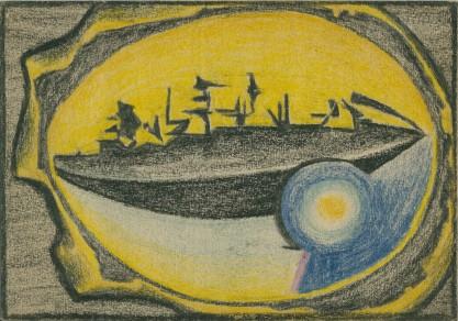 Van Fiut, Hegar, Kosmiczny statek cieni