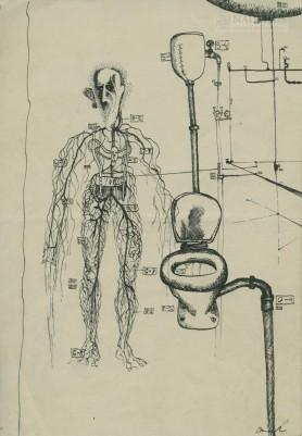 Układ nerwowy przy toalecie, 1960 - 1970