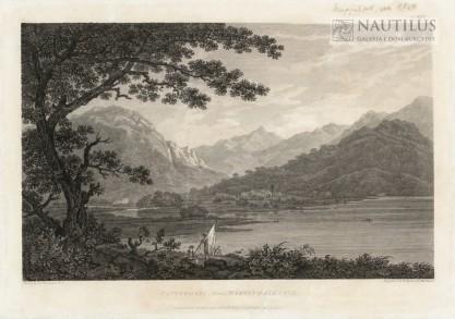 William Thomas Byrne, Thomas Medland, Patterdale from Martindale Fell [Widok wioski Patterdale od Martidale Fell]