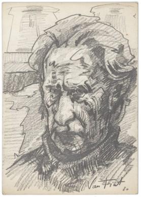 Portret ojca - Józefa Marka, 1980