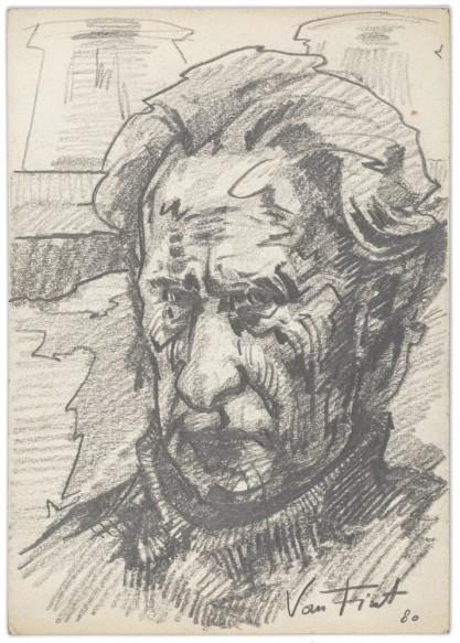 Van Fiut, Hegar, Portret ojca - Józefa Marka