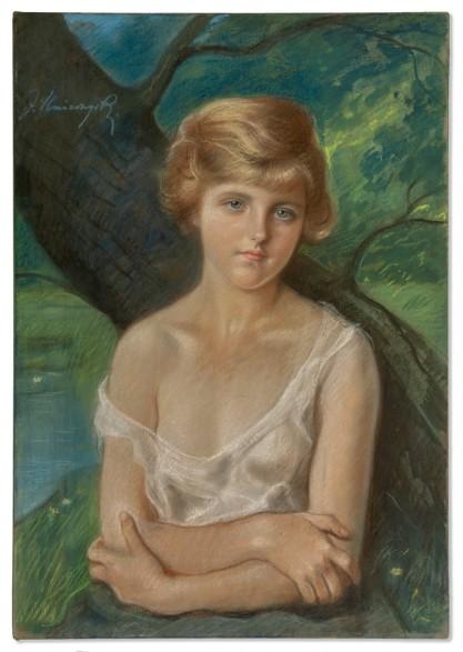 Józef Unierzyski, Portret dziewczyny