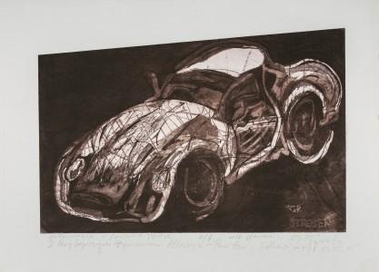 Ryszard Grazda, Automobile