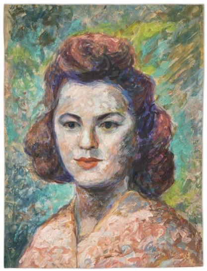 Stanisław Wałach, Portret kobiety