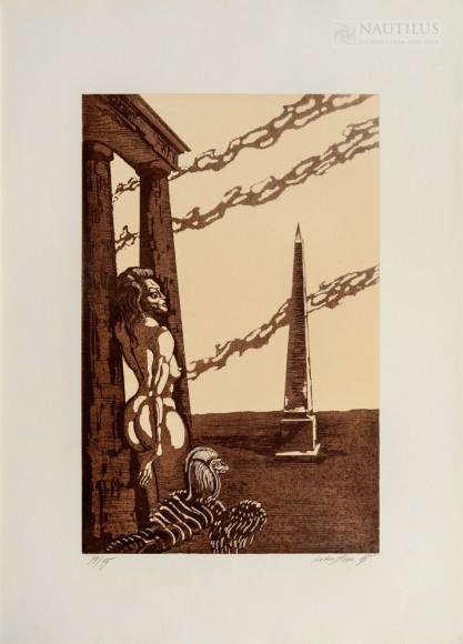 Jan Lebenstein, Obelisk