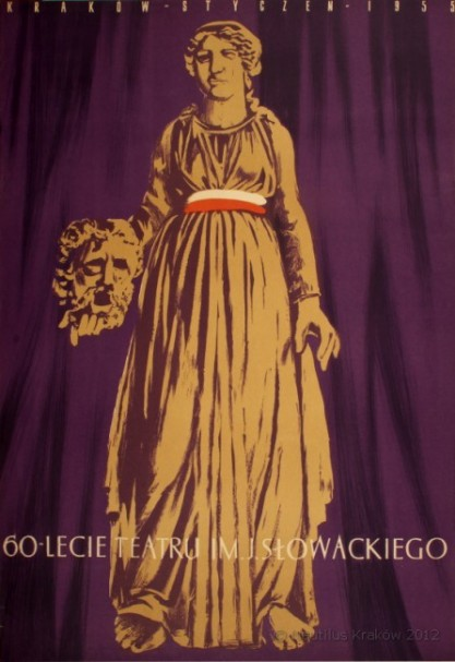 Włodzimierz Buczek, Rita Walter- Łomnicka, 60-lecie Teatru im. Juliusza Słowackiego w Krakowie
