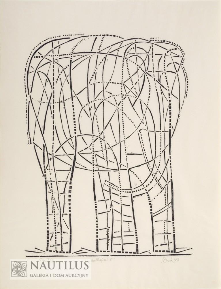 Der Elefant II