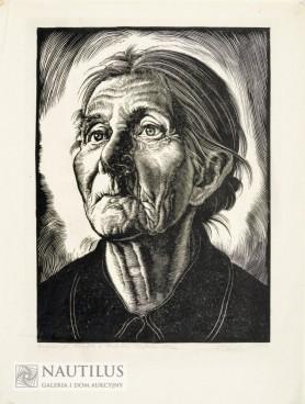 Kobieta z Beskidów Śląskich, 1947
