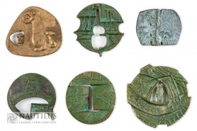 Zestaw sześciu medali, 1961 - 1998