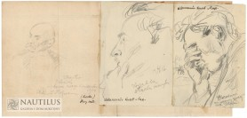 Zestaw portretów, 1914 - 1916