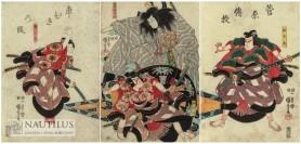 Scena z dramatu kabuki