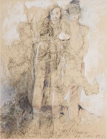 Ryszard Opaliński, Kompozycja figuralna
