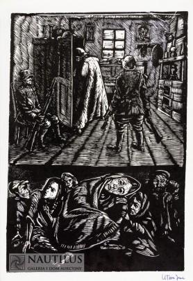 Kryjówka w getcie, 1949