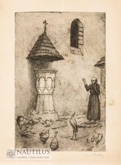 Ludwik Misky, Kazanie św. Franciszka