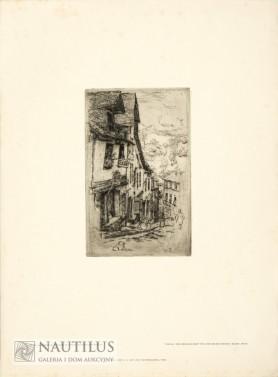 Ulica Jerzual w Dinan, 1906 - 1907