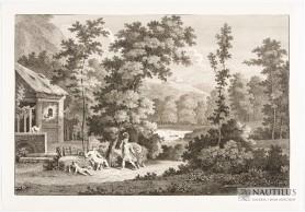 Scena antyczna w krajobrazie, XVIII wiek