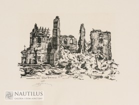 Ruiny Starej Warszawy 1945. Teka grafik, 1945