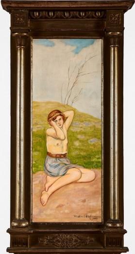Dziewczyna [półakt], 1927