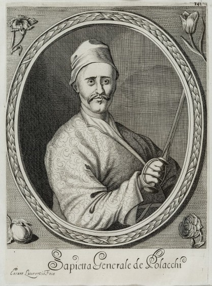 Cesare Laurentio, Portret Pawła Jana Sapiehy