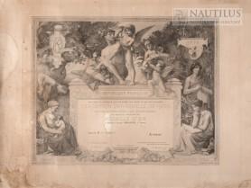 Dyplom Wystawy Powszechnej w Paryżu, 1900
