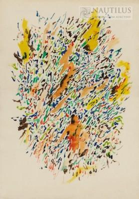 Kompozycja abstrakcyjna, 1961