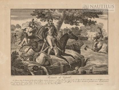 Rocquelin, Śmierć księcia Józefa pod Lipskiem