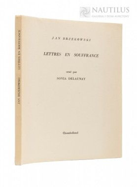 Lettres en Souffrance, orne par Sonia Delaunay, 1972