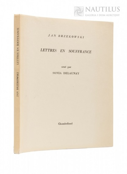 Jan Brzękowski, Lettres en Souffrance, orne par Sonia Delaunay