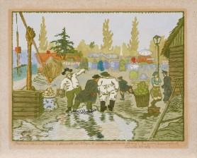 Jarmark w Kłaju, 1926