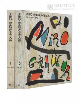 Miró Joan, Jacques Dupin, Miró engraver, , 1989