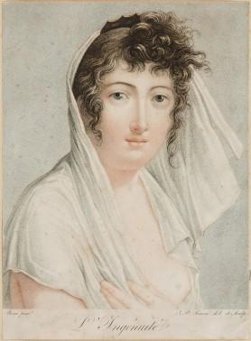 Dama w negliżu, 1. ćwierć XIX w