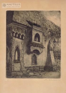 Zamek w Dębnie, lata 20. XX wieku