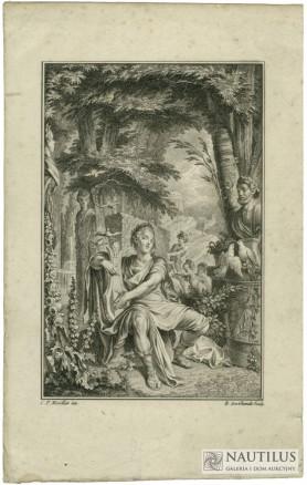 Apollo z harfą, ok. 1774