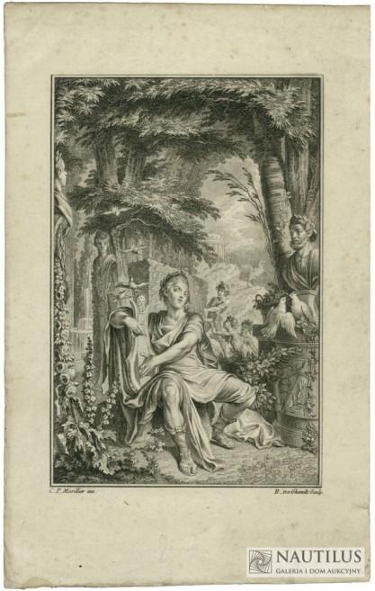 Emmanuel-Jean-Népomucène GHENDT De, Apollo z harfą