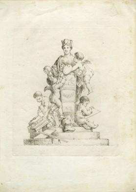 Alegoria malarstwa i rzeźby, 1788